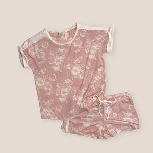 Lucky Brand Floral Shirt and Shorts Set